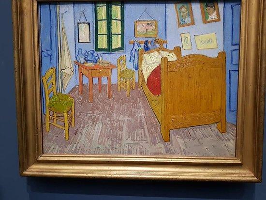 De slaapkamer van Van Gogh - Picture of Musee d\'Orsay, Paris ...