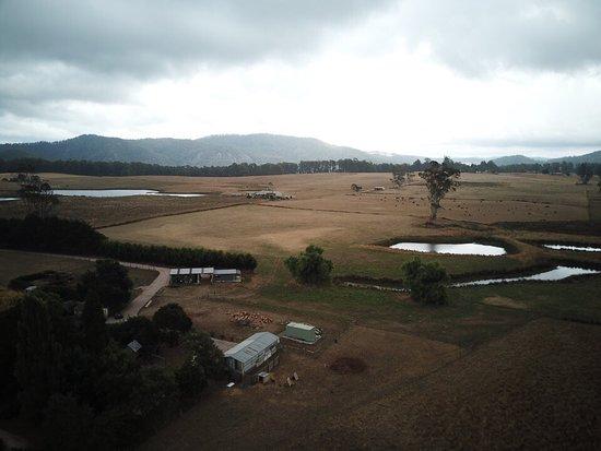 Barrington, Australia: Dams in the back paddock