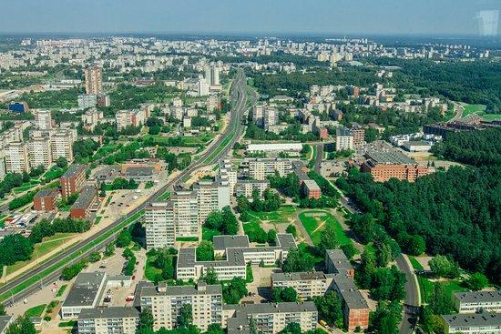 เทเลวิชั่นทาวเวอร์: Вид на Вильнюс