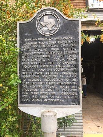 Hidalgo, TX: Pumphouse Info