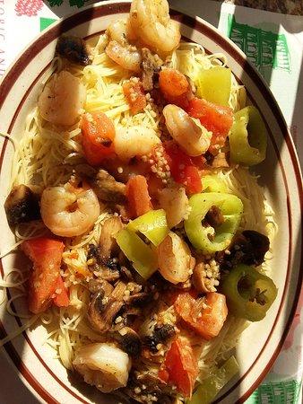 Steubenville, OH: Delicious shrimp pasta oilio