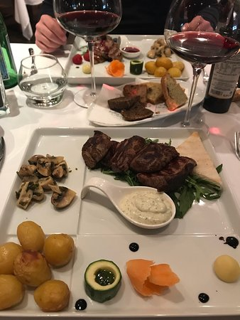 Picture of ambrosia restaurant rome for Ambrosia mediterranean cuisine