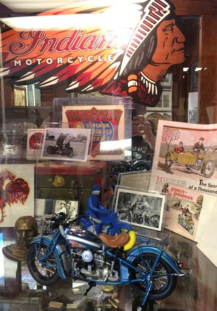 Three Rivers, CA: Indian Motorcycle Memorabilia