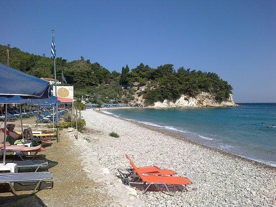 Tsamadou Beach: The beach!!