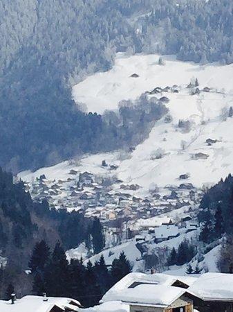 Areches sous la neige