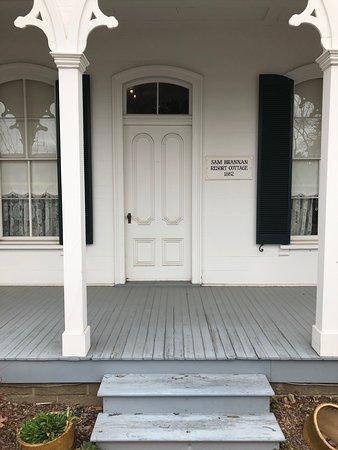 Sharpsteen Museum : Sam Brannan Resort Cottage, 1862, Exterior View