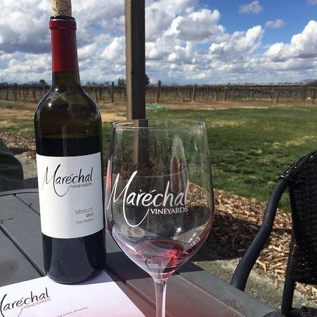 Sanger, CA: Marechal Vineyards