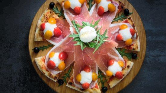 Pizza cascade di Parma