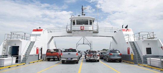 Atlantic Beach, FL: St. John's River Ferry on deck