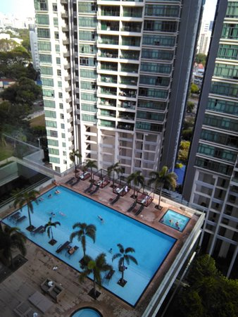 Pool on the 8th floor. Perfect for kids and those swimming laps. (approx. 20 meter)