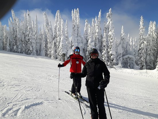Silver Star, Canada: Day 1 of our ski vacay