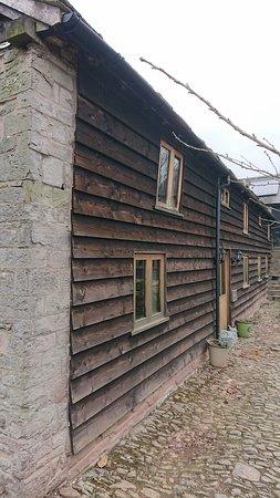 Eardisley, UK: View - outside of the accomodation