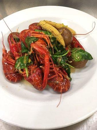 Lansdowne, Canada: From our 2018 Thursday Night N'Awlins menu: Big Bowl of Crawfish!
