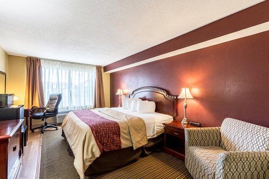 Muskegon Heights, MI: Guest room