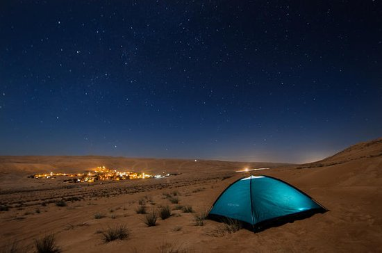 Over Night desert safari staying in tent