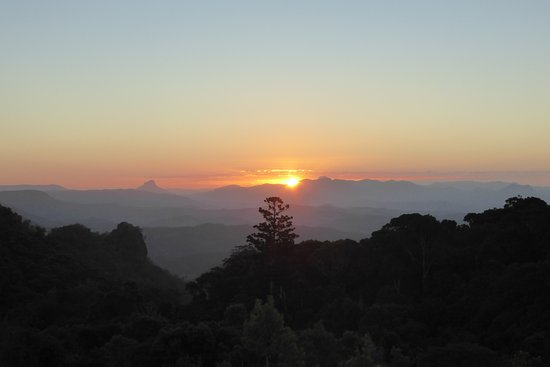 Canungra, Australia: Sunset from our deck