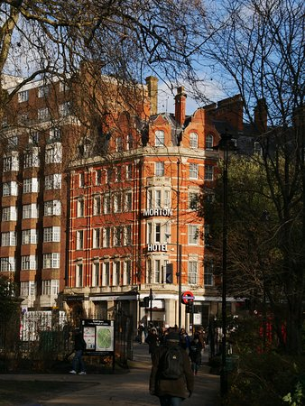 The Morton Hotel from Russell Square