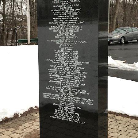 Newington, CT: Iwo Jima Survivors Memorial Park