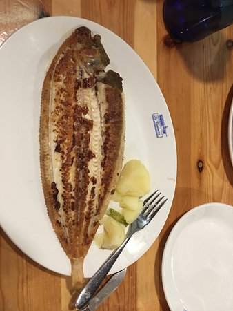 Restaurante La Trainera: The fish that I had