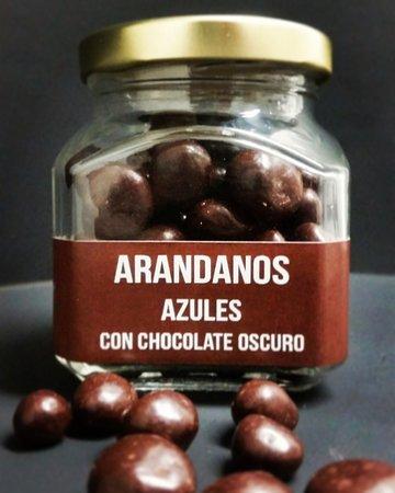 Blueberries + Chocolate