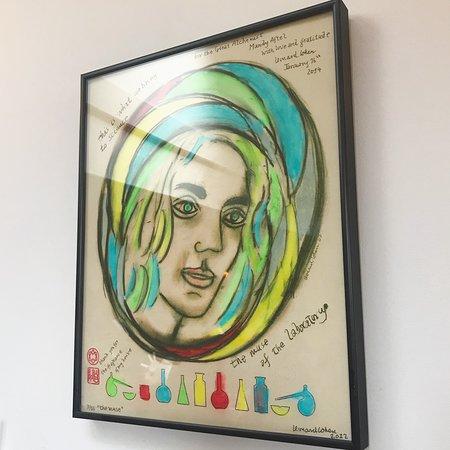 Berkeley, Califórnia: Illustration of Mandy by Leonard Cohen