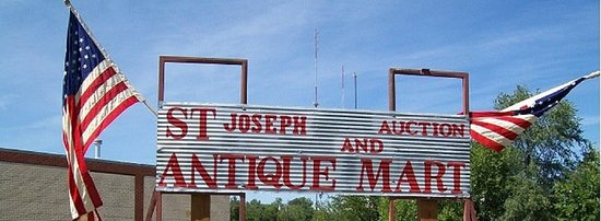 Saint Joseph, MO: St Joseph Auction and Antique Mart, with the friendliest people you ever want to talk to.