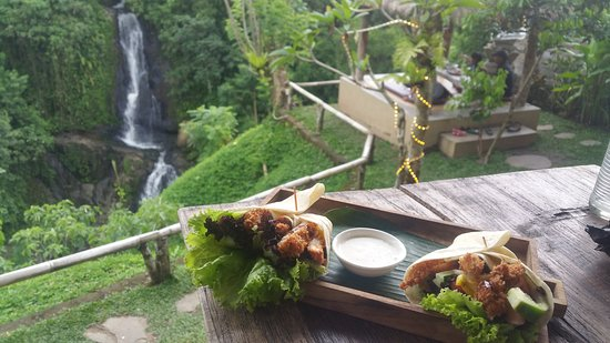Layana Warung: view from the tables