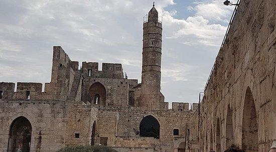 מגדל דוד בירושלים חפירות ואתר ...