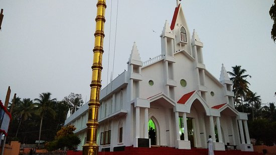 Varkala, India: Saint Sebastians Pilgrim Church Moongodu