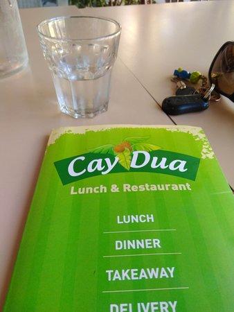 Cay Dua Restaurant Menu