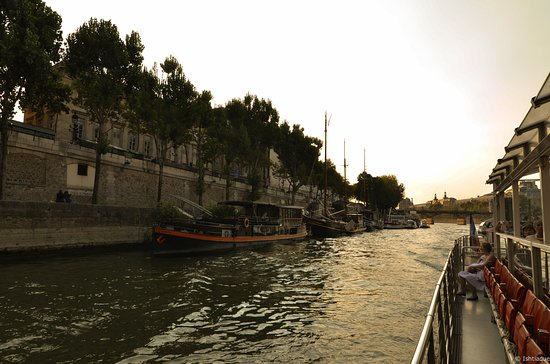 Paris, France : The Seine River