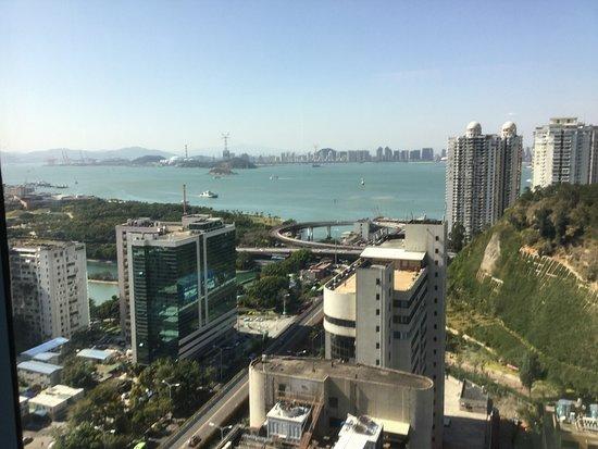Pan Pacific Xiamen: looking towards mainland