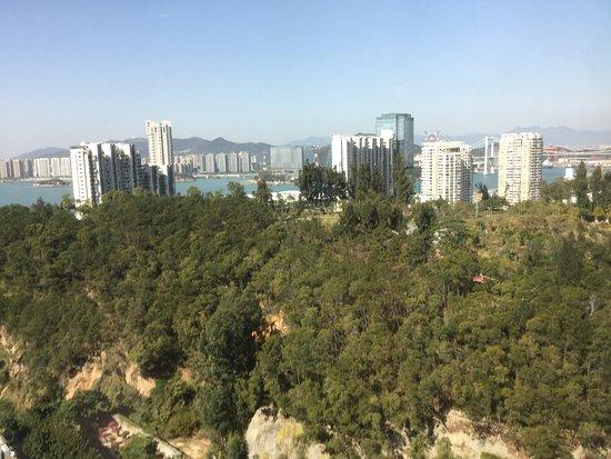 Pan Pacific Xiamen: hill besides hotel