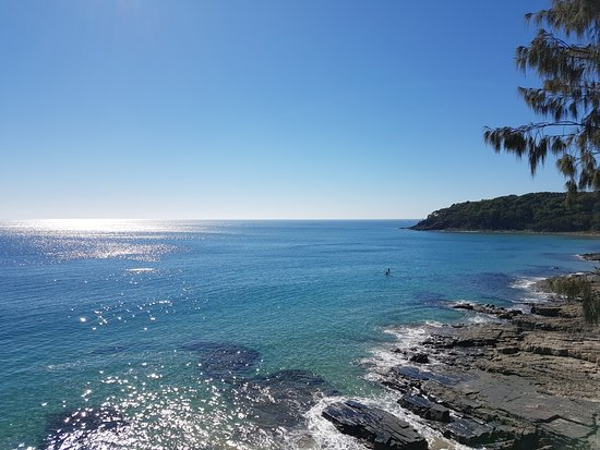 Μουλουλάμπα, Αυστραλία: Noosa , Sunshine Beach Day Tour. Noosa National Park walk.