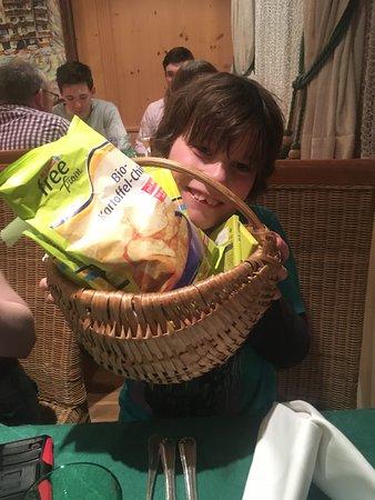 Jägerwirt Hotel: Grover's box of gluten-free treats