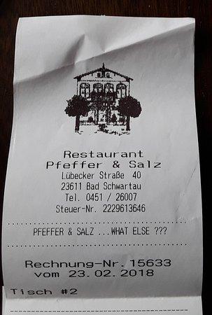 Bad Schwartau, ألمانيا: Beleg