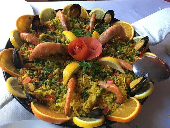 El Faro Bar-Restaurante: Wunderbare Paella