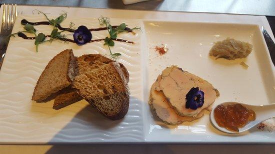 Best Western Plus Hotel Des Francs : Foie gras