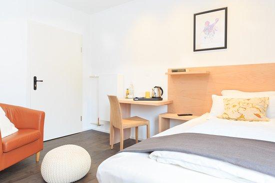 Bad Steben, ألمانيا: Wohlfühleinzelzimmer mit 120 cm Bett