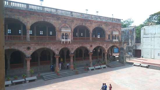 Rajwada Indore: my Shot from the first level of opposite building