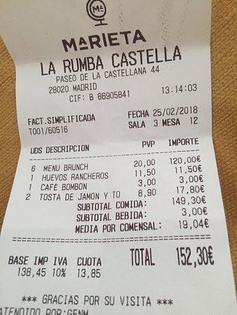 Marieta madrid barrio de salamanca fotos n mero de tel fono y restaurante opiniones - La marieta madrid ...