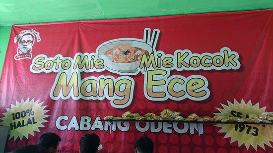 Soto Mie Mang Ece Sukabumi Restaurant Reviews Phone Number