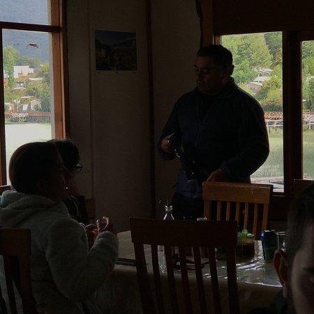 Tortel, Chile: Buen lugar, hermosas vistas