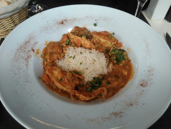Incognito Cafe Bar: Tika massala