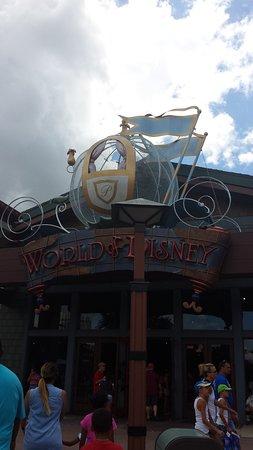 World of Disney entrance