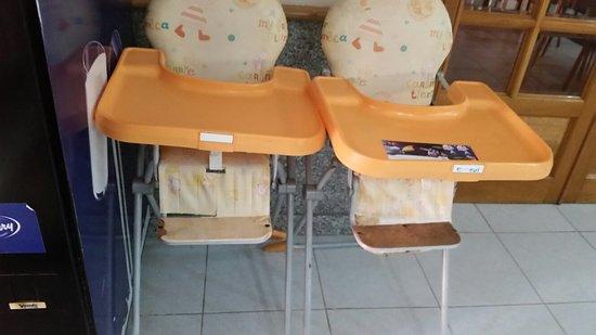 Canifor Hotel: Hotel i otoczenie oraz foteliki dla dzieci