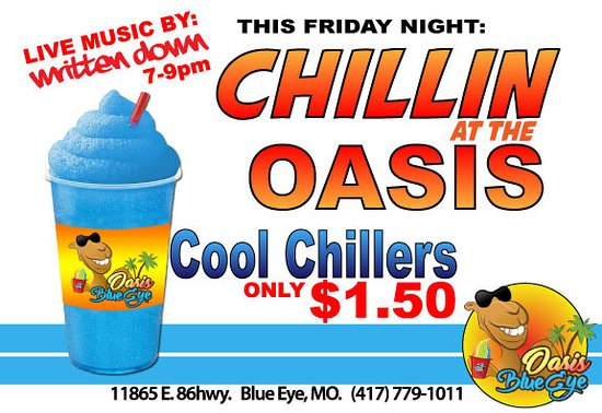 Blue Eye, MO: Cool Chillers