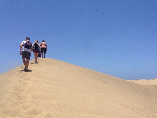 Playa de Maspalomas: Maspalomas sand dunes