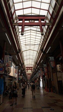 Tenjimbashisuji Shopping Street: アーケード内