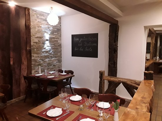 Zum Hirsch Italienische Mediterrane Küche - Bild von Zum ...